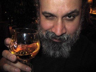 william fuentes drinks the whisky